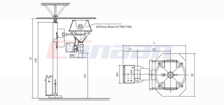 NTFZ Series Pharma Lifter, for Fbg/Fbd Bowl