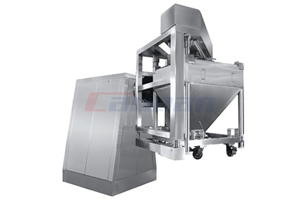 HDD series bin blender, single arm